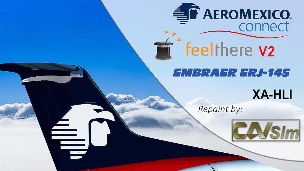 Embraer ERJ-145MP Aeromexico Connect 'Aerolitoral Livery''XA-HLI'