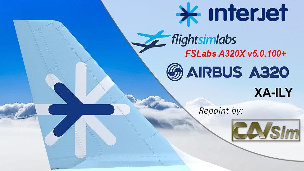 A320-214 (WT) ABC Aerolineas 'Interjet' 'XA-ILY' CN: 3123