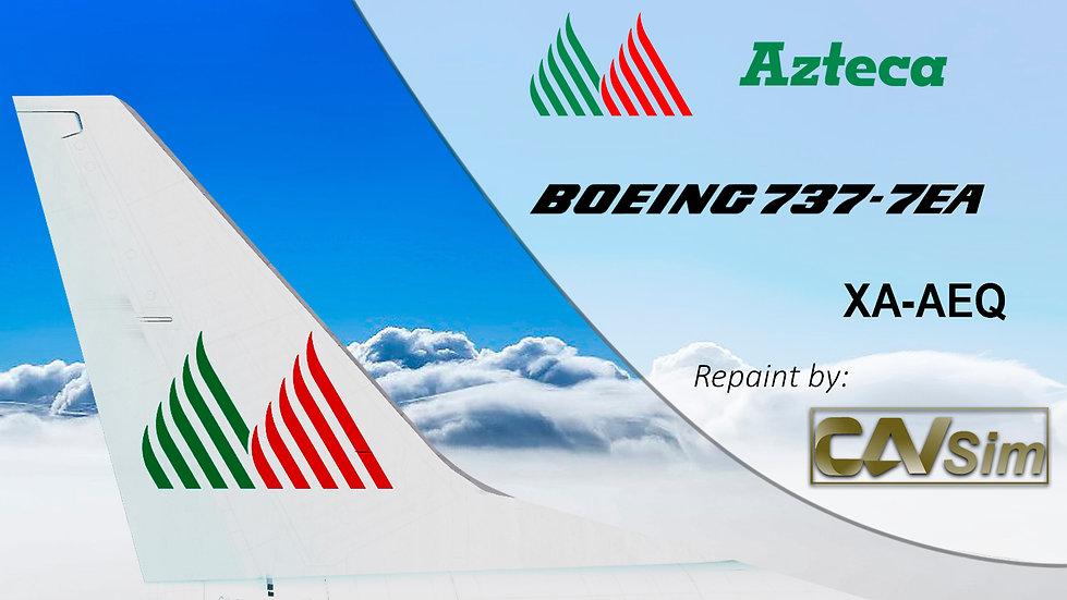 Boeing 737-7EA Lineas Aéreas Azteca 'XA-AEQ'