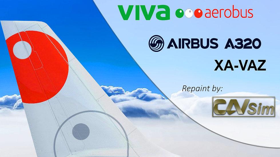 Airbus A320-232 VivaAerobus 'Last Livery' 'XA-VAZ'
