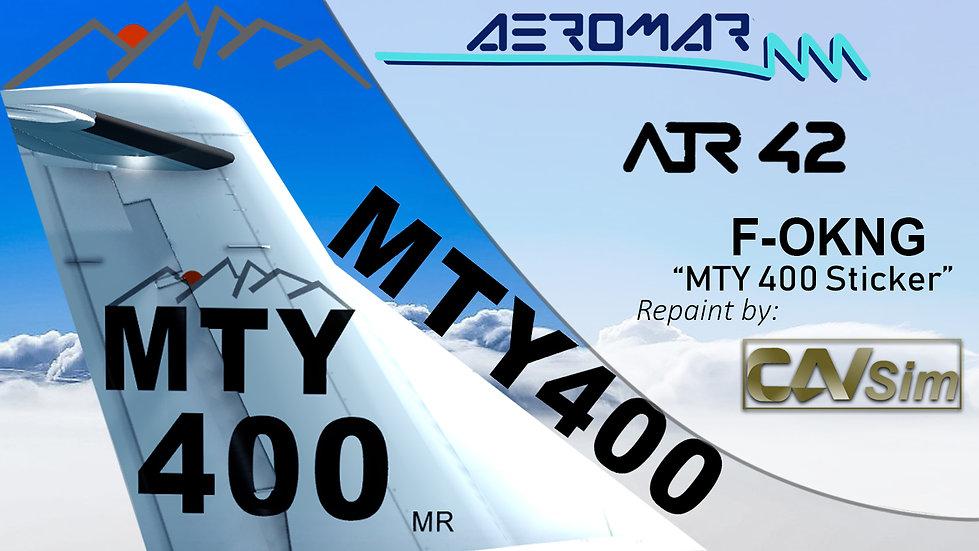 ATR 42-300 Aeromar 'Livery MTY 400' 'F-OKNG'