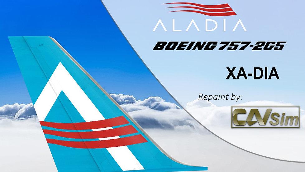 Boeing 757-2G5 (4D) Aladia XA-DIA