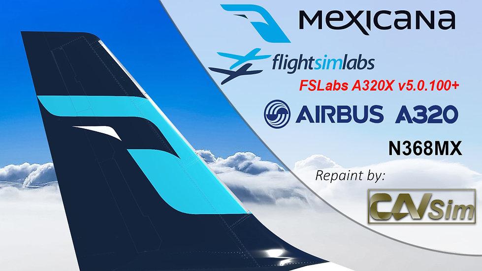 A320-231 (WT) Mexicana 'Last Livery' 'N368MX' CN: 368