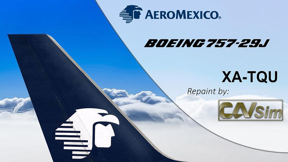 Boeing 757-29J (5D) Aeromexico Circa White 2000 XA-TQU