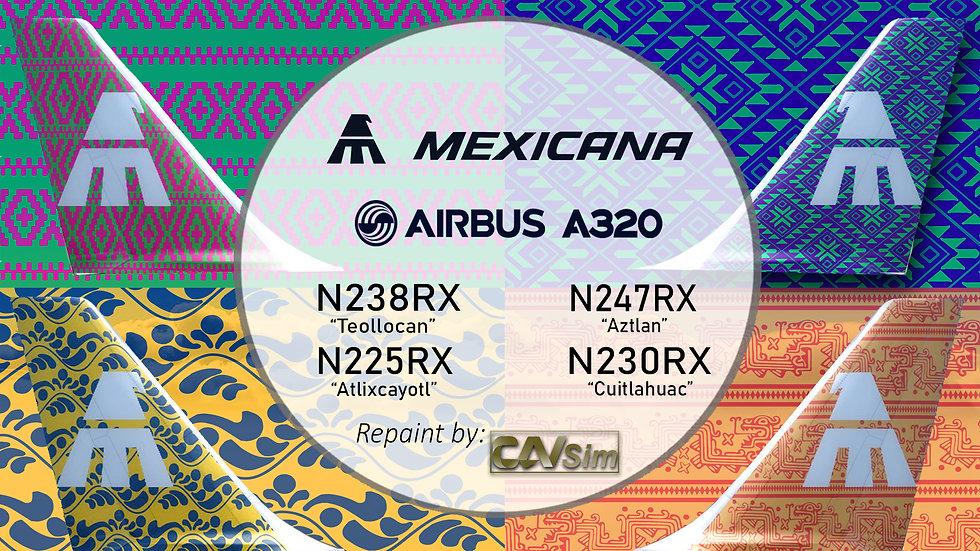 Pack No. 11 A320-231 El Cielo Nunca se ha visto Mejor Vol.1