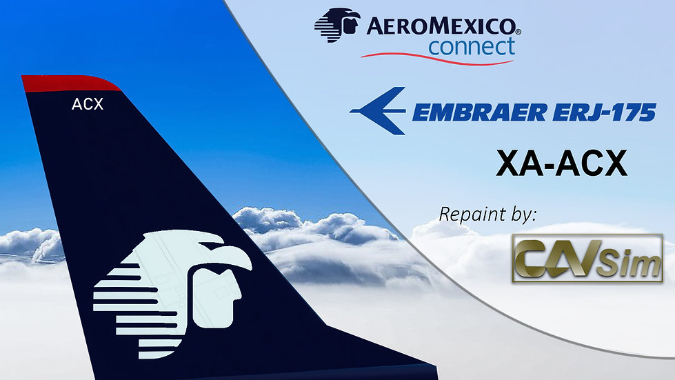 Embraer E-Jets EMB-175SR AeroMexico Connect 'XA-ACX'