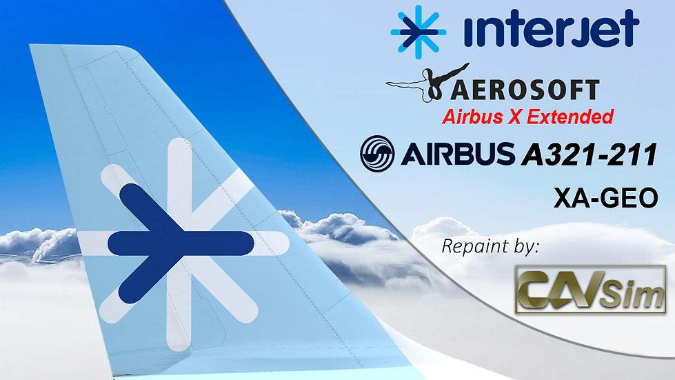 A321-211SL-SK ABC Aerolíneas - Interjet 'XA-GEO'