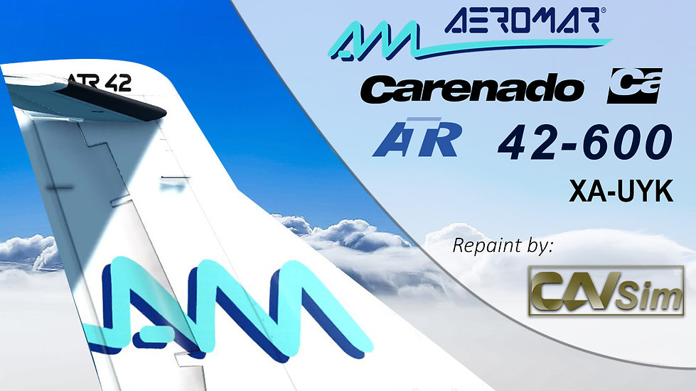 ATR42-600 Aeromar 'Last Livery' 'XA-UYK'