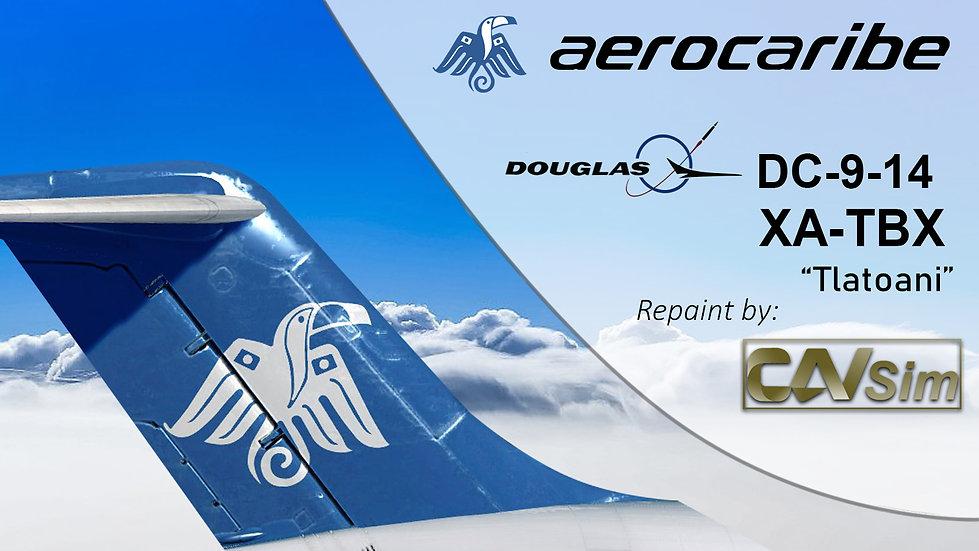 Douglas Aircraft DC-9-14 Aerocaribe 'Tlatoani' 'XA-TBX'