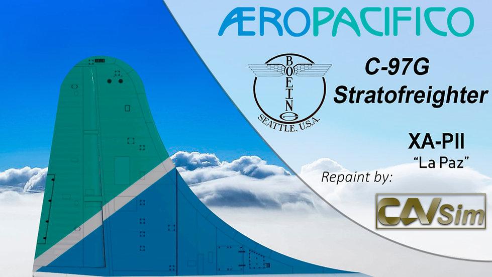 Boeing C-97G Aeropacifico 'Sticker Organización Bimbo' 'XA-PII'