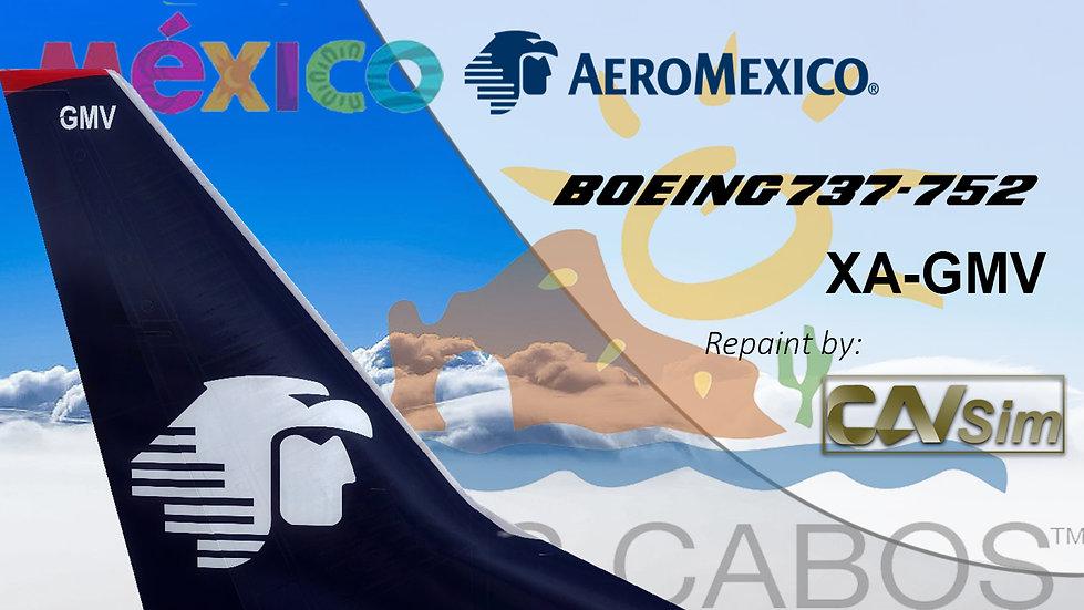 Boeing 737-752(WL) Aeromexico 'Sticker Los Cabos' 'XA-GMV'