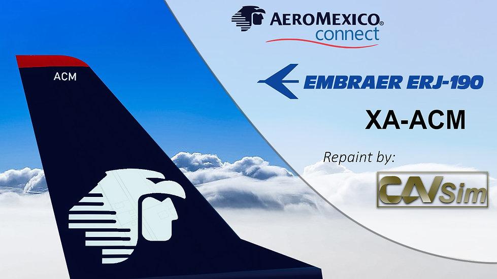 Embraer E-Jets EMB-190LR Aeromexico Connect 'XA-ACM'