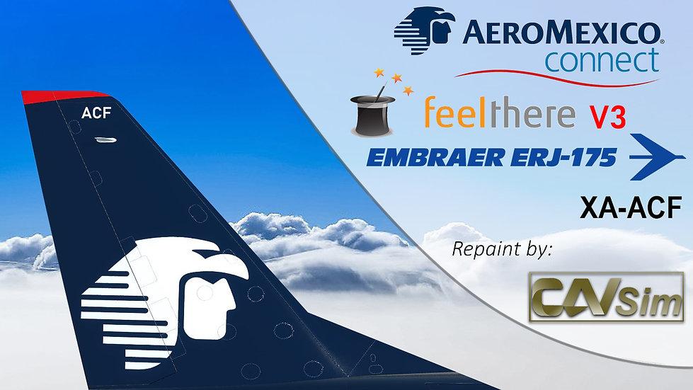 Embraer EMB-175LR Aeromexico Connect 'New Wingtips' 'XA-ACF'