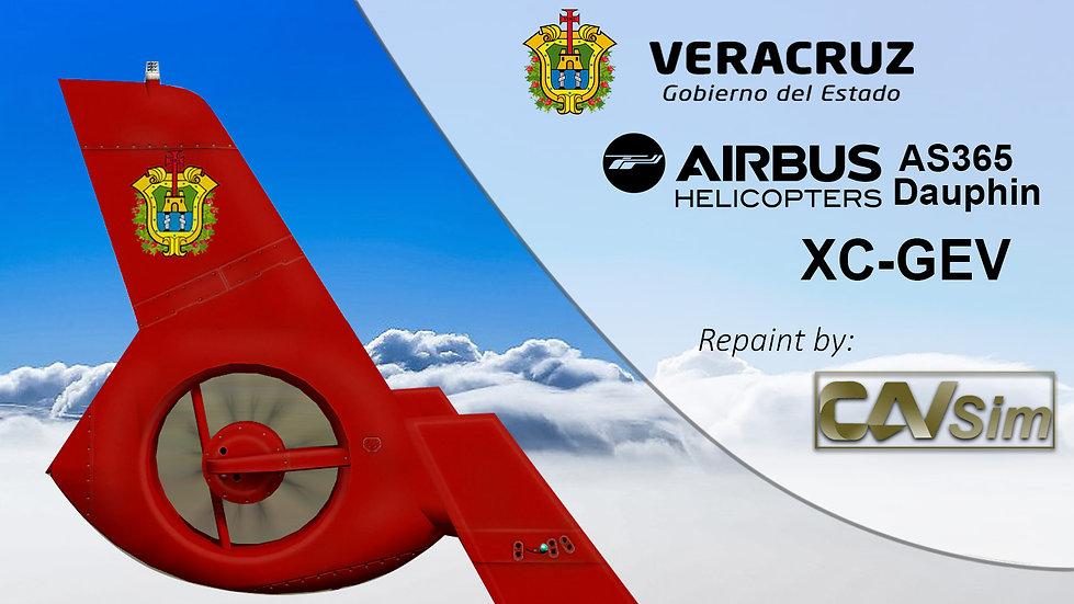 Eurocopter AS-365N3 Gobierno del Estado de Veracruz 'XC-GEV'