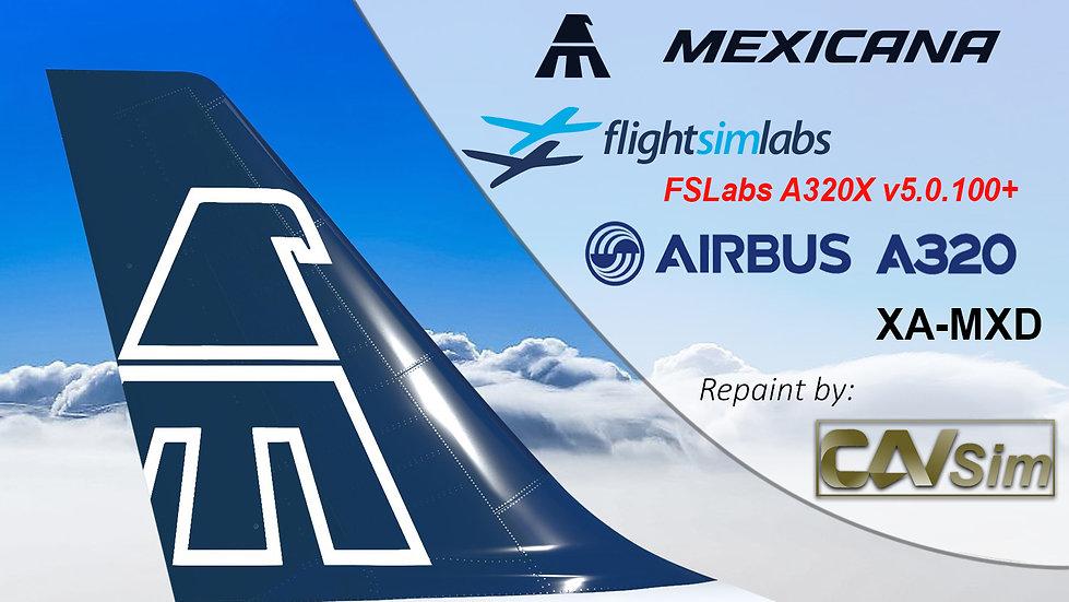 A320-214 (WT) Mexicana 'Blue Livery' 'XA-MXD' CN: 1229