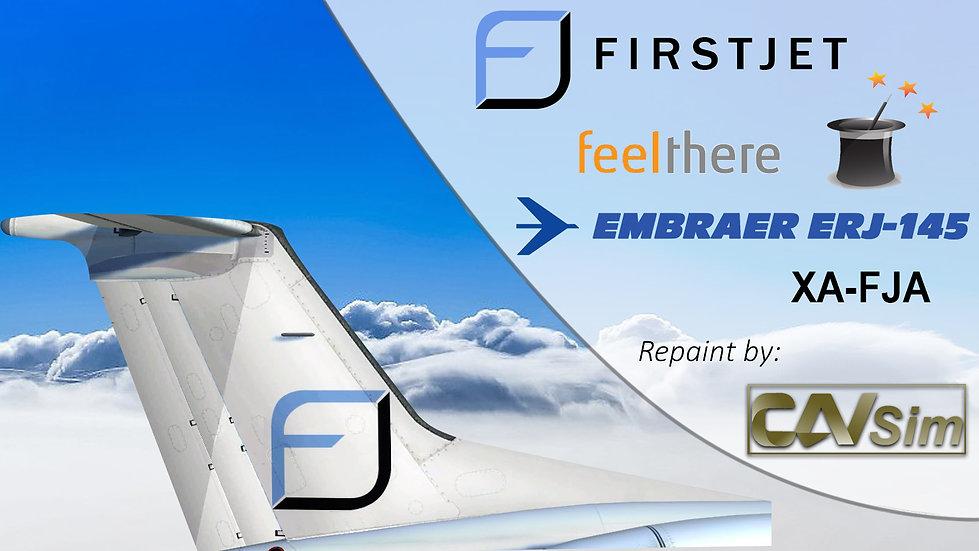 Embraer ERJ-145LR Compañía Ejecutiva SA de CV 'FirstJet' 'XA-FJA'