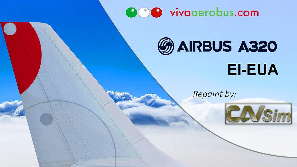 Airbus A320-232 VivaAerobus 'First Livery' 'EI-EUA'