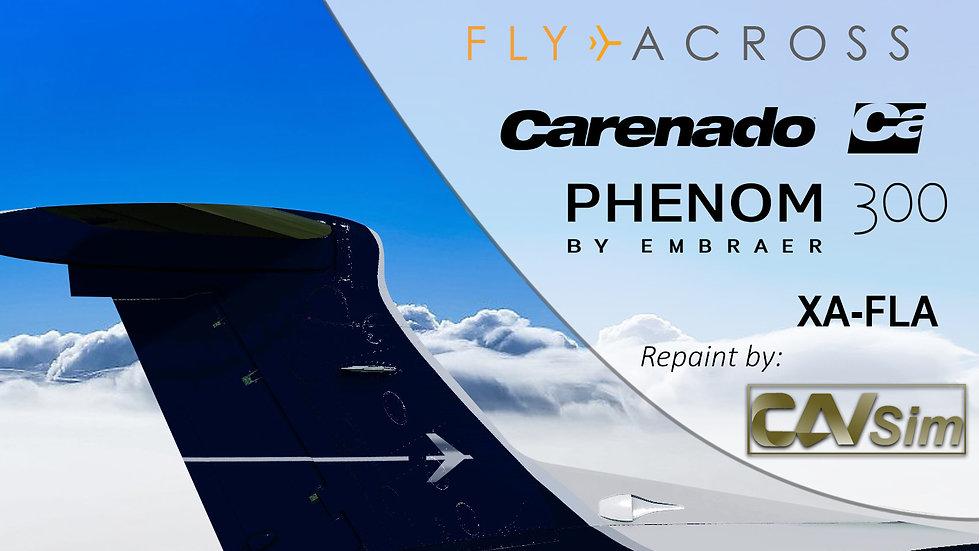 Embraer EMB505 Phenom 300 Servicios Aereos Across SA de CV 'XA-FLA'