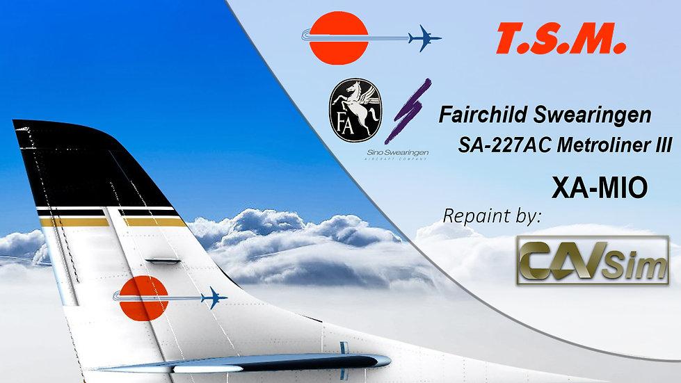 Fairchild Swearingen SA-227AC Metroliner III Aeronaves TSM 'XA-MIO' AC-693B