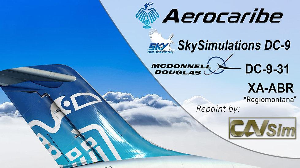 McDonnell Douglas DC-9 31  Aerocaribe 'Regiomontana' 'XA-ABR'