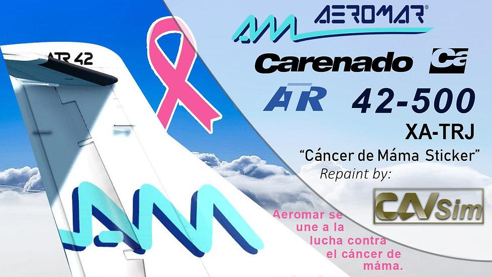 Avions de Transport Regional ATR42-500 Aeromar 'Cáncer de Mama' 'XA-TRJ'