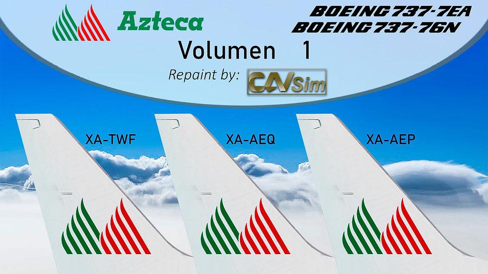 Pack No. 40 Boeing B737-700 Lineas Aéreas Azteca Vol. 1