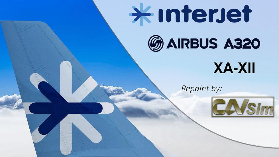 Airbus A320-214 Interjet 'XA-XII'
