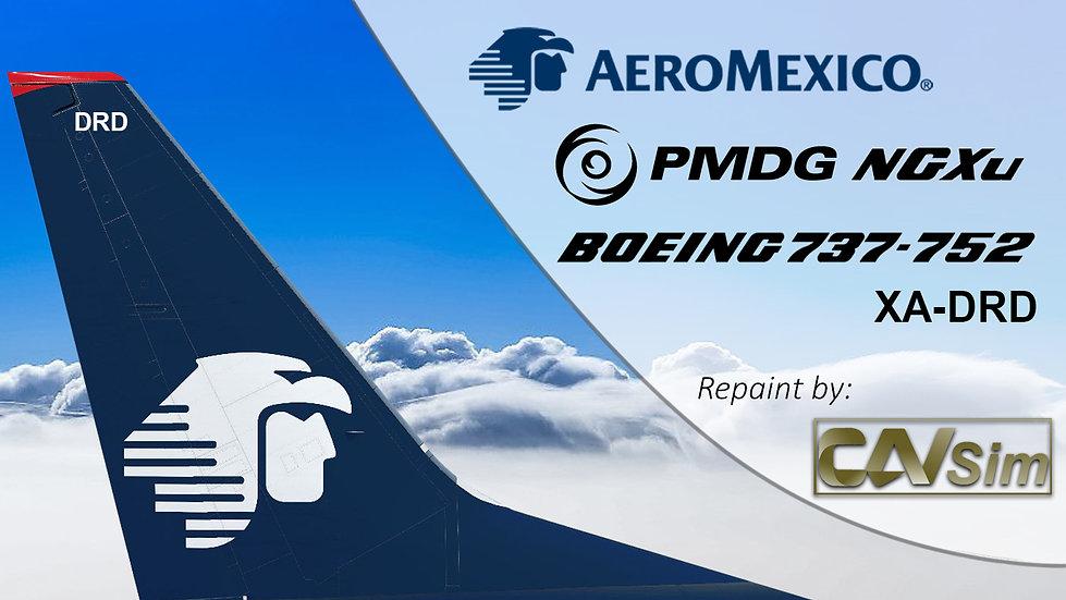 B737-752(BW) AeroMexico Last Livery 'XA-DRD'