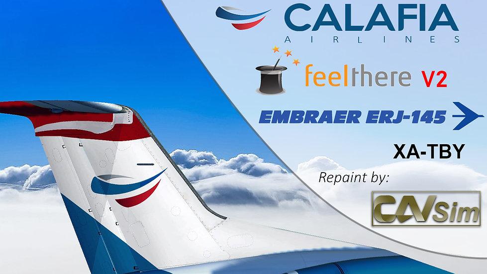 Embraer ERJ-145LR Calafia Airlines 'Last Livery' 'XA-TBY'