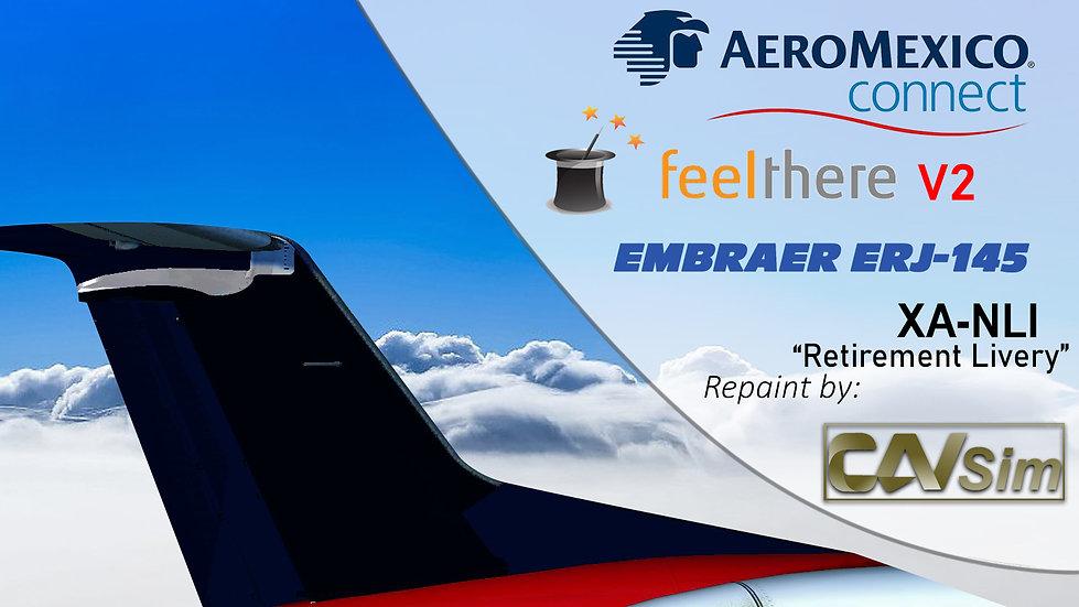 Embraer ERJ-145ER Aerolitoral 'Retirement Livery''XA-NLI'
