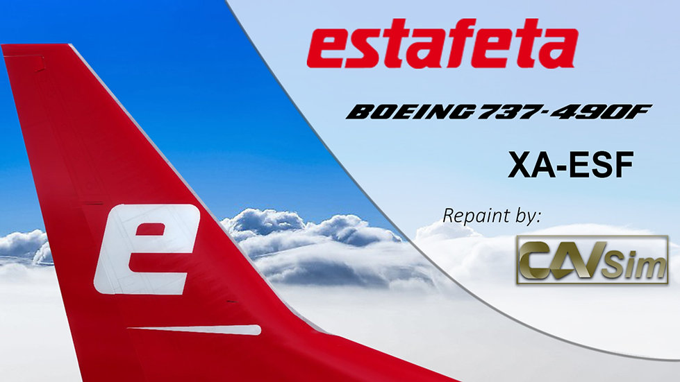 Boeing 737-490F Estafeta Carga Aérea 'XA-ESF'