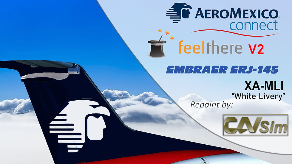 Embraer ERJ-145ER Aeromexico Connect 'White Livery' 'XA-MLI'