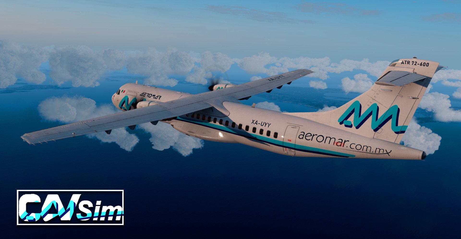 title=Avions de Transport Regional ATR 72-600 Aeromar 'Last Livery' 'XA-UYY'