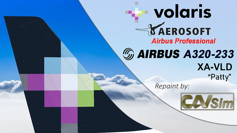 A320-233SL(SK) Volaris 'Patty' 'XA-VLD'