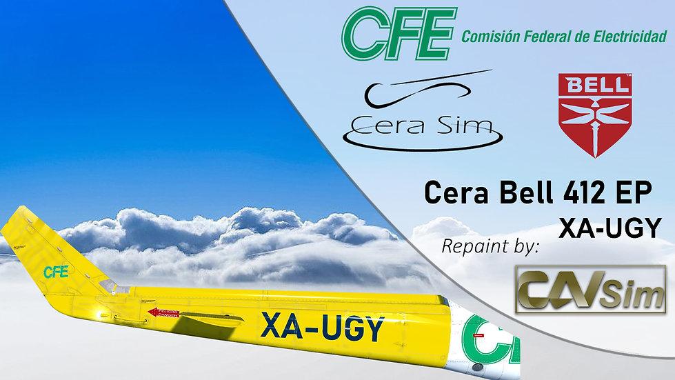 Bell 412 EP Heliservicio Campeche SA de CV 'Operated by CFE' 'XA-UGY'