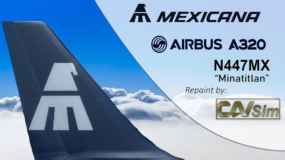 Airbus A320-231 Mexicana 'Minatitlan' 'N447MX'