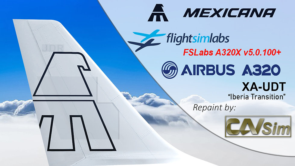 A320-214 (WT) Mexicana 'White Livery' 'XA-UDT' CN: 2347