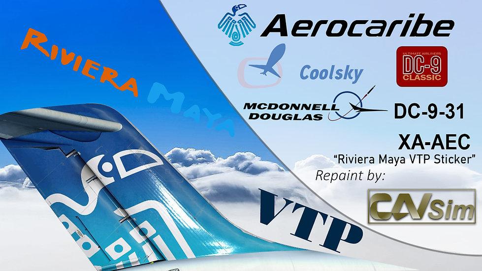 McDonnell Douglas DC9-31 Aerovias Caribe SA de CV 'Tatich' 'XA-AEC'