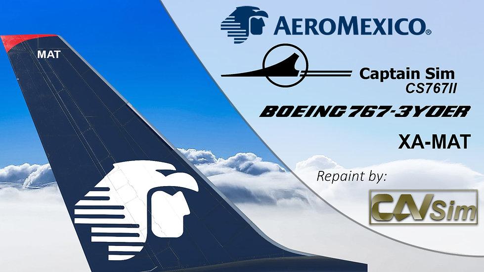 B767-3Y0ER(WL) Aeromexico Last Livery XA-MAT