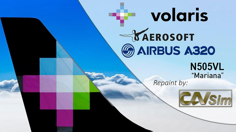 A320-233(WT) Volaris 'Mariana' 'N505VL'