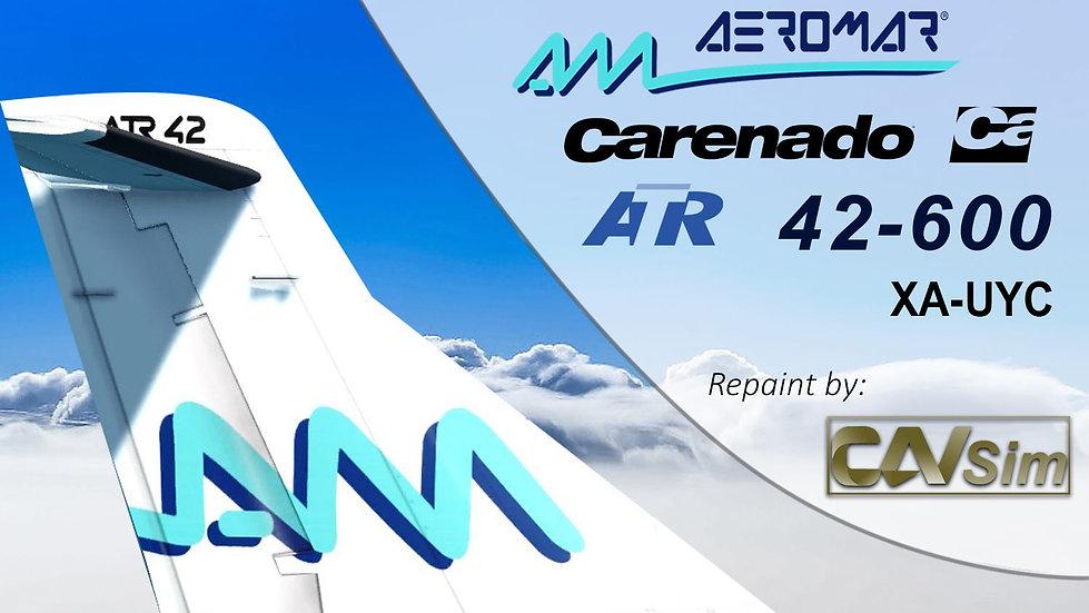 Avions de Transport Regional ATR42-600 Aeromar 'White Livery' 'XA-UYC'