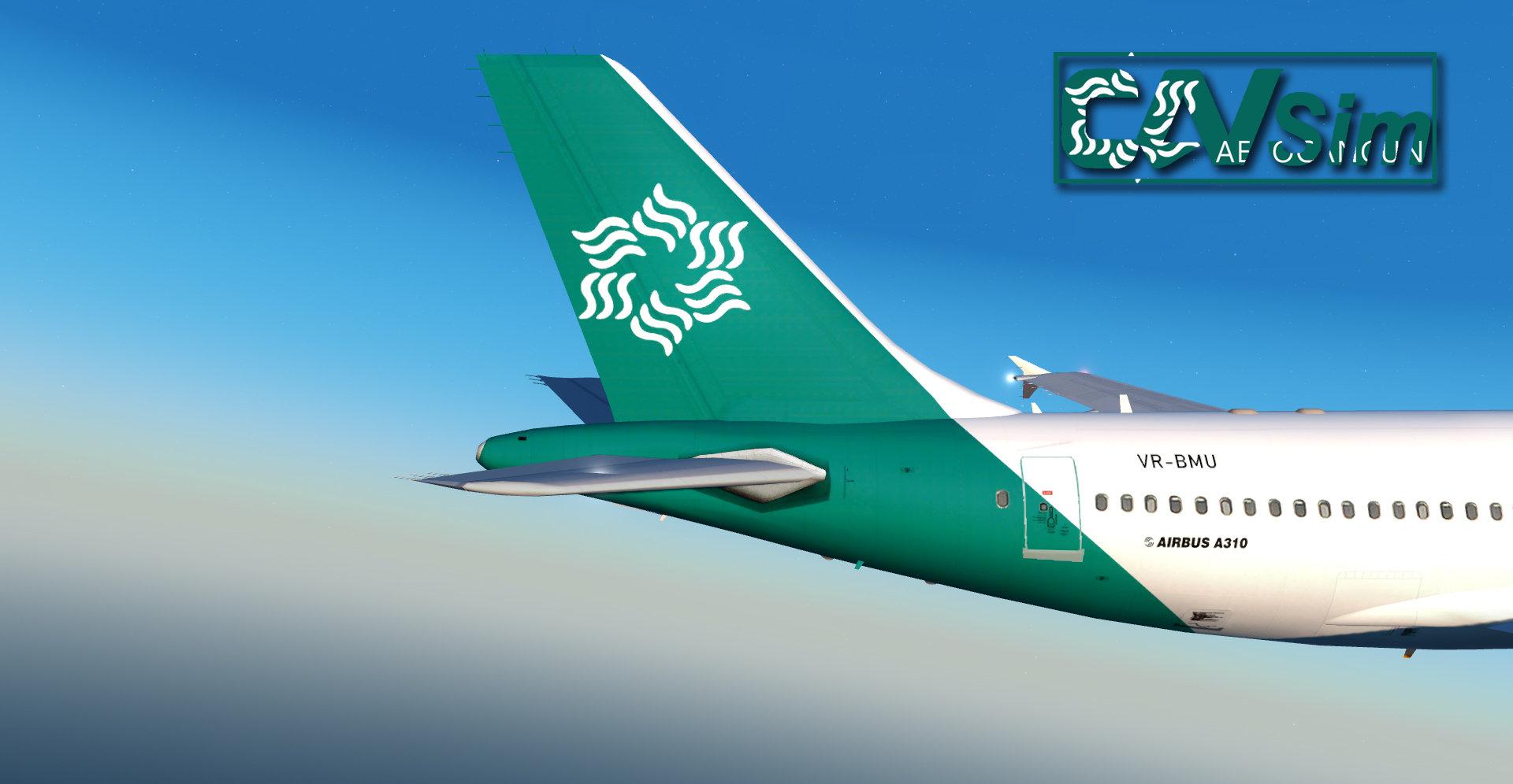 Airbus A310-324R Aerocancun 'Last Livery' 'VR-BMU'