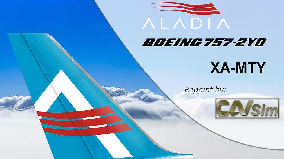 Boeing 757-2Y0 (SF4D) Aladia XA-MTY