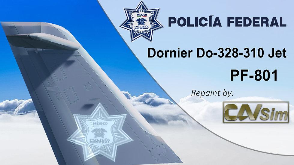 Fairchild Dornier 328-310JET Policía Federal de México 'PF-801'