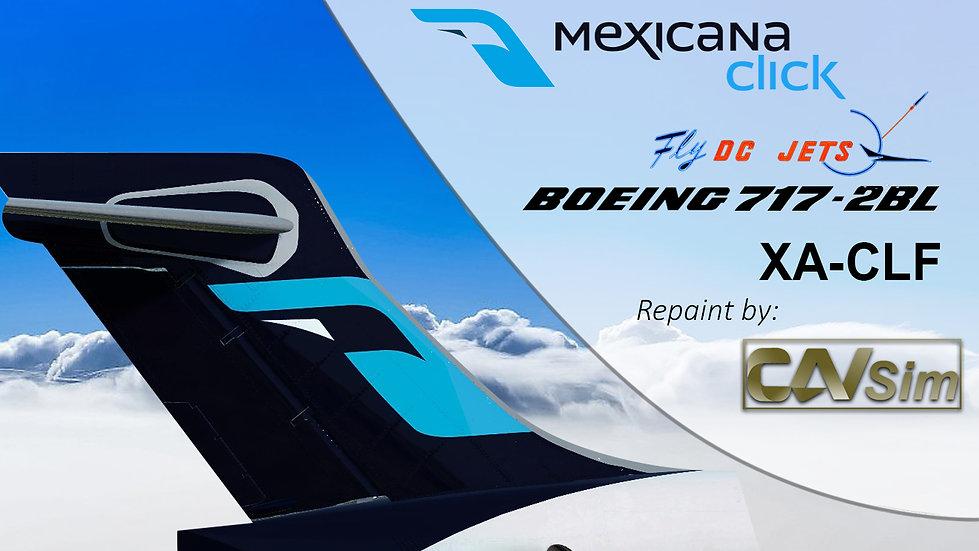 Boeing 717-2BL Mexicana Click 'XA-CLF'