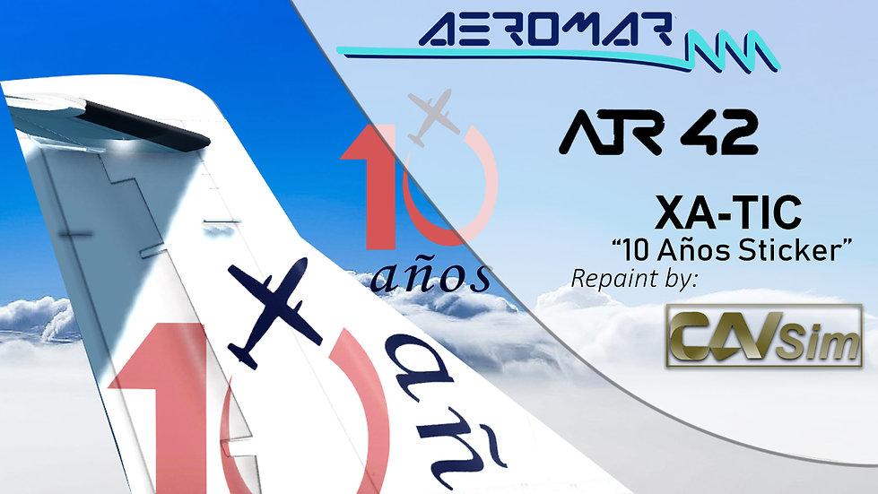 ATR 42-320 Aeromar '10 Anniversary' 'XA-TIC'