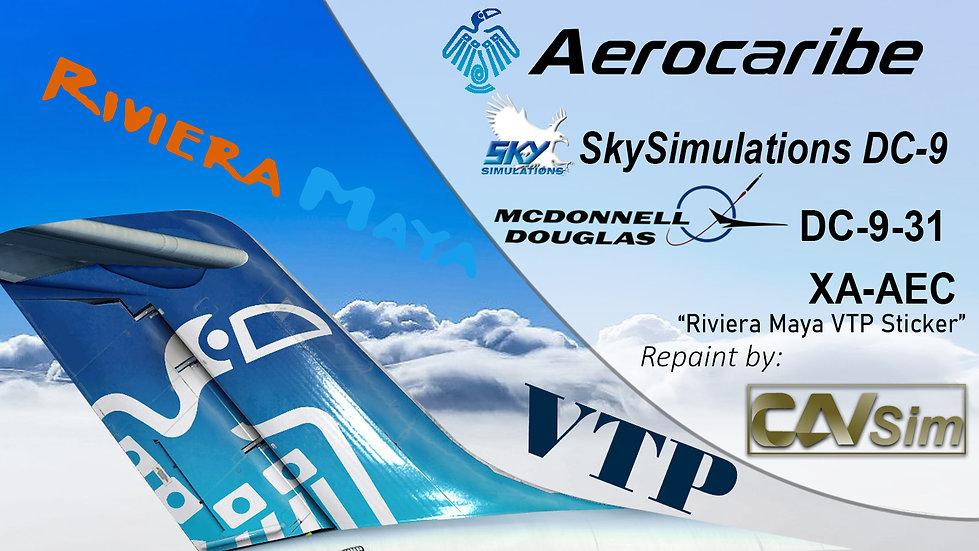 McDonnell Douglas DC-9 31 Aerovias del Caribe 'Aerocaribe' 'Tatich' 'XA-AEC'