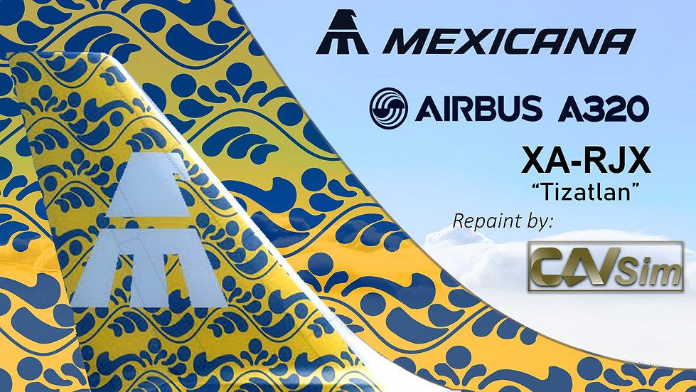 Airbus A320-231 Mexicana 'Tizatlan' 'XA-RJX'