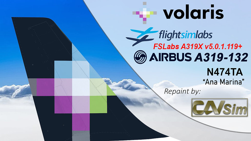 A319-132 (WT) Volaris 'Ana Marina' 'N474TA'