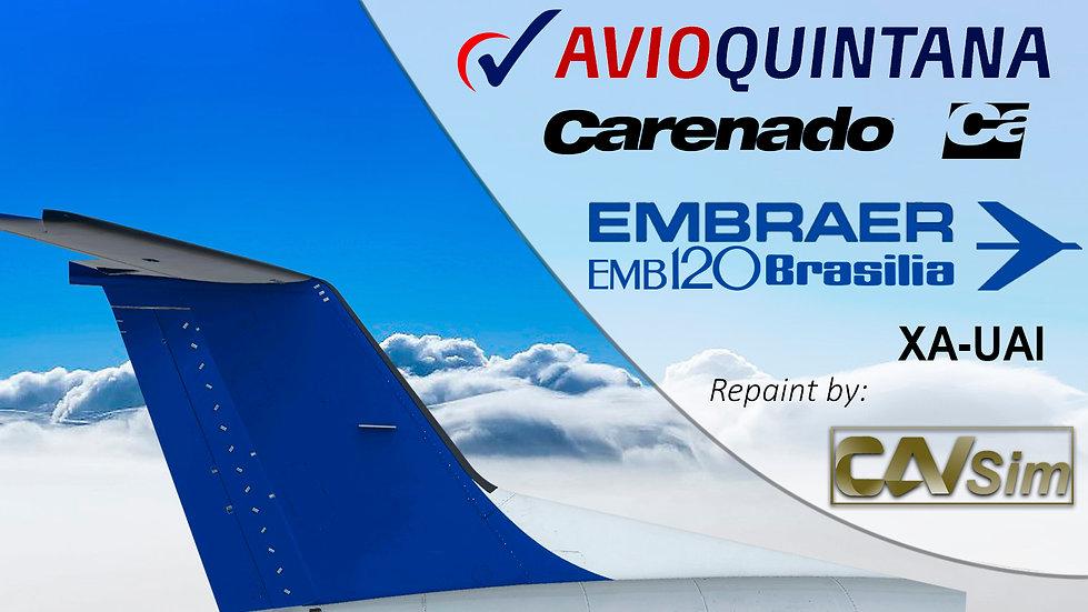 Embraer Aircraft EMB-120RT Avioquintana S.A. 'XA-UAI'